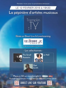 Jo Hall concert Fev 1016